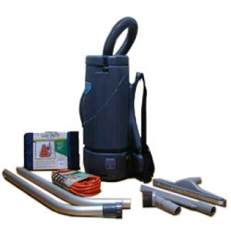 Nottingham Back Pack Vacuum With Tools Horse Hair Bristles