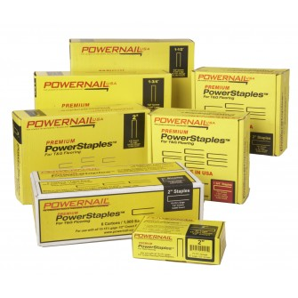 "Powernail 1-1/2"" Staples 5000 Count"